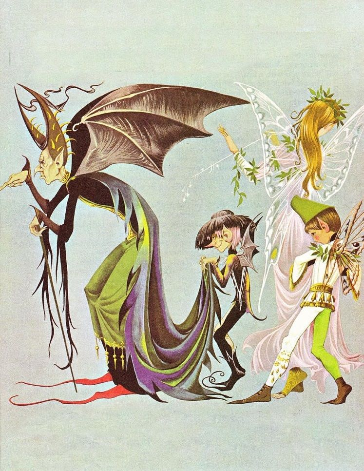 "Illustration by and Anne Grahame Johnstone for ""The"