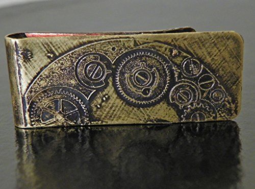 Steampunk Money Clip ** Continue to the product at the image link.