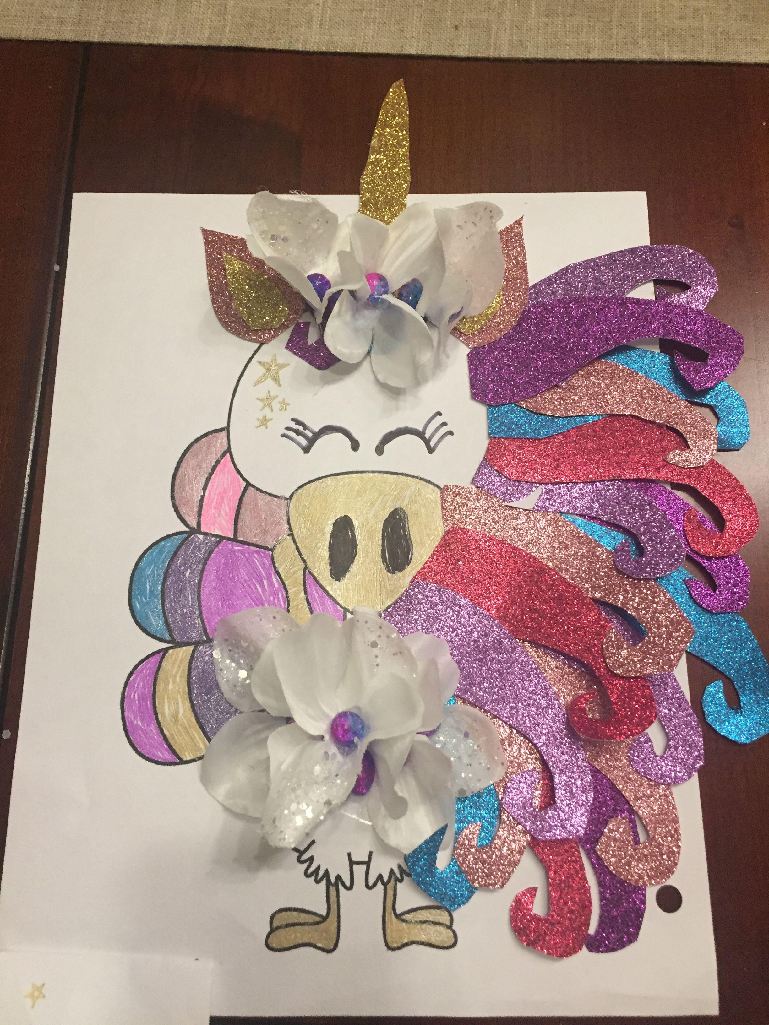 Disguise a Turkey - Unicorn #disguiseaturkey
