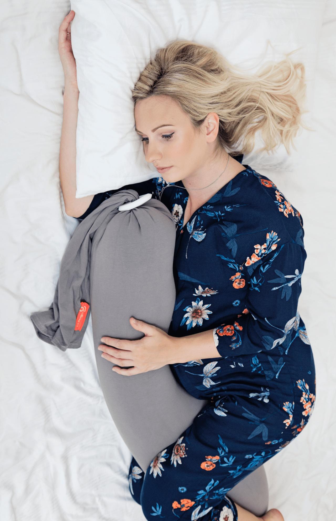 bbhugme Pregnancy Pillow GreyPlum