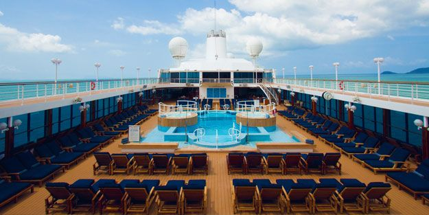 Entertainment and Activities - Pool on deck of ship