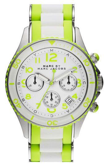 0311eb945b93 Acid Trip...Trend Alert: Neon Yellow | What time is it? | Bracelet ...