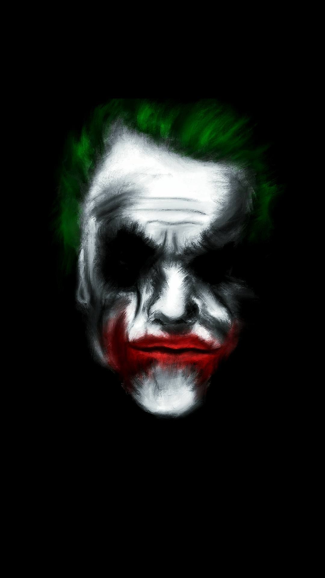 The Joker Amoled Wallpaper Oc 19201080 Psychedelic Illustration Joker Wallpaper
