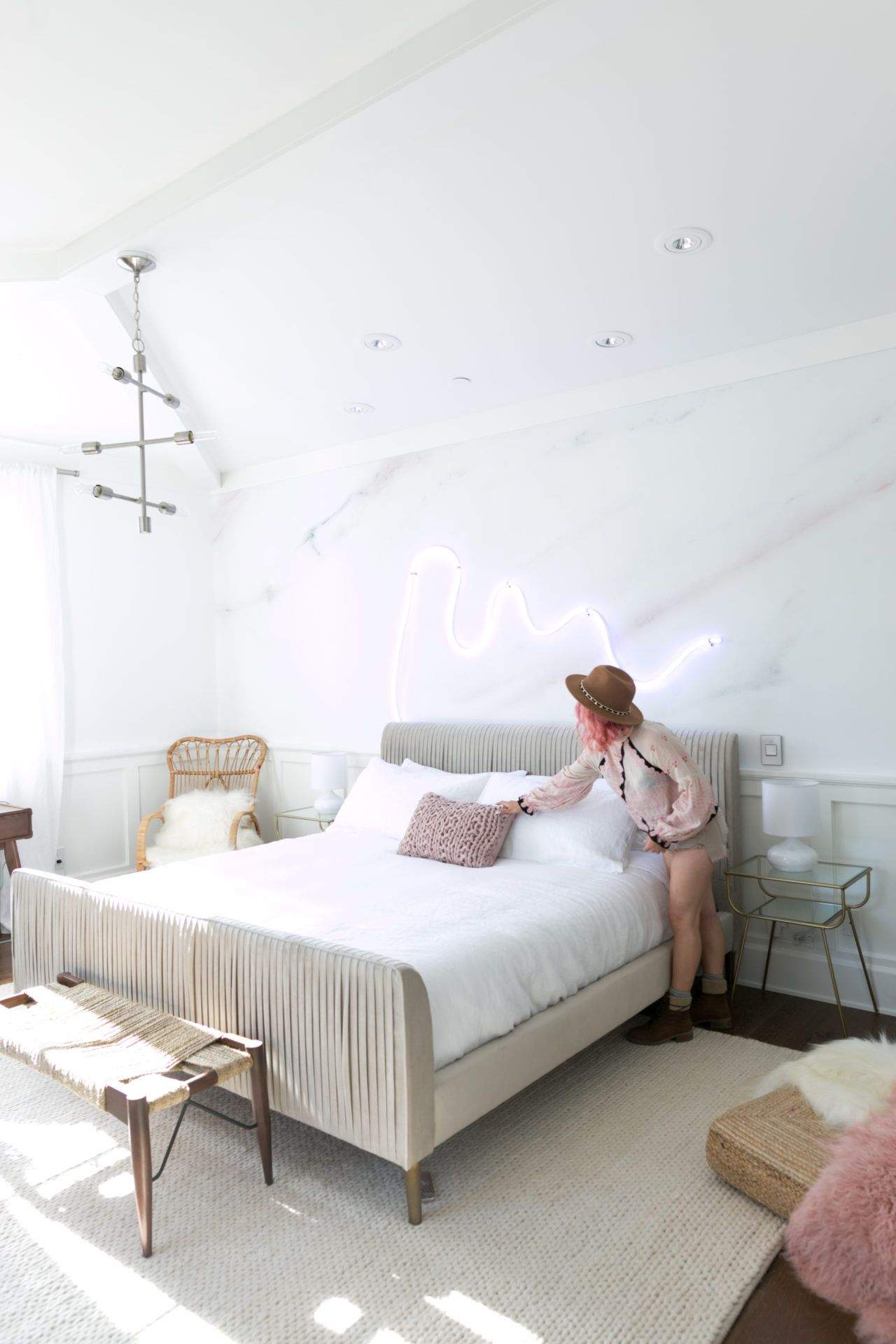 Pastel Bedroom Ideas Palm Springs Pastel Bedroom Makeover For Alisha Marie