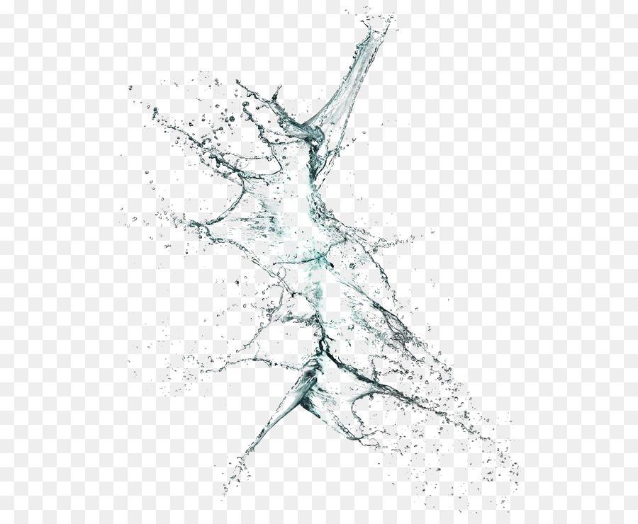 Water Splash Drop Splash Of Water Droplets Imagem Em Png Png