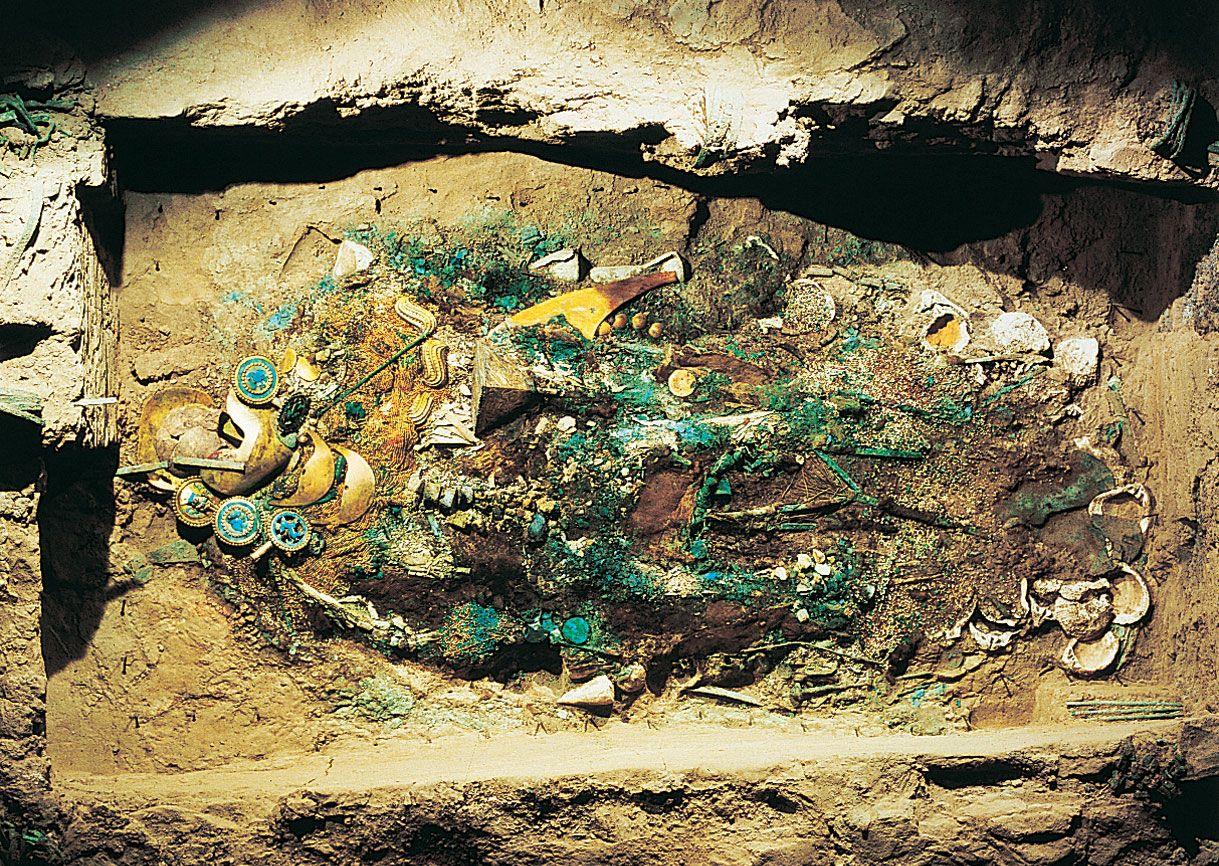 Found In A Moche Civilization Site In