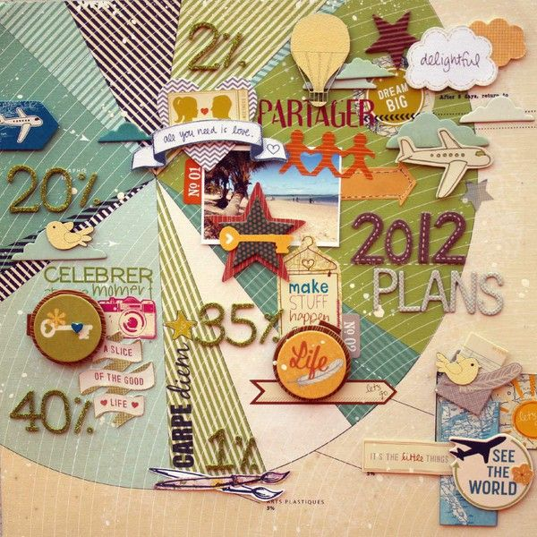 Larissa albernaz using american crafts like the pie chart idea also best pages projects images on pinterest scrapbook layouts rh