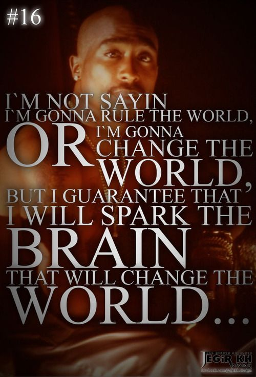2Pac - Change the World