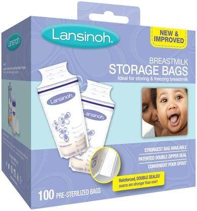 Lansinoh Tmilk Storage Bags 6 Oz 100 Ct Free Shipping