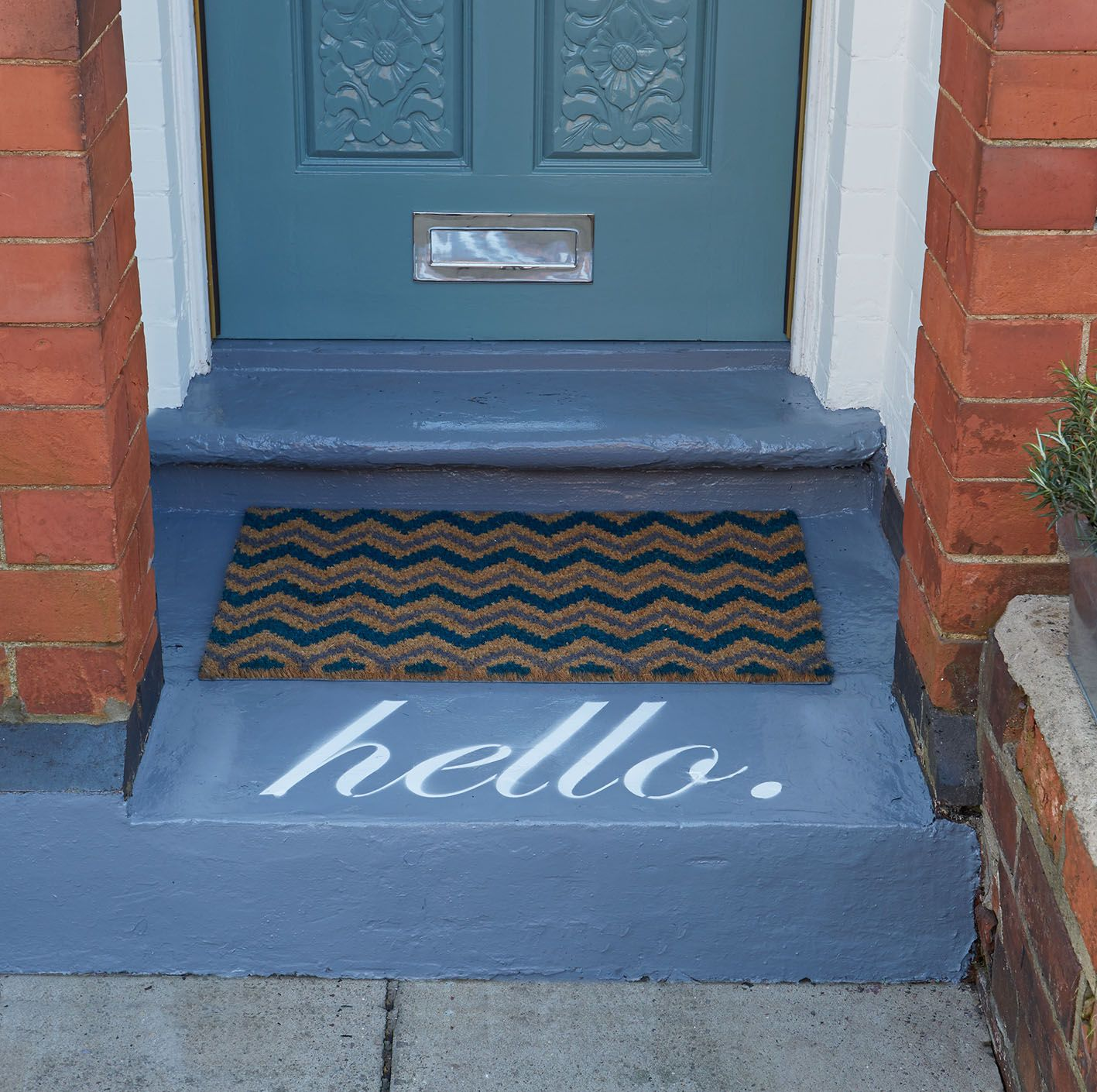 'Hello'. Create A Welcoming Feel Before You've Even