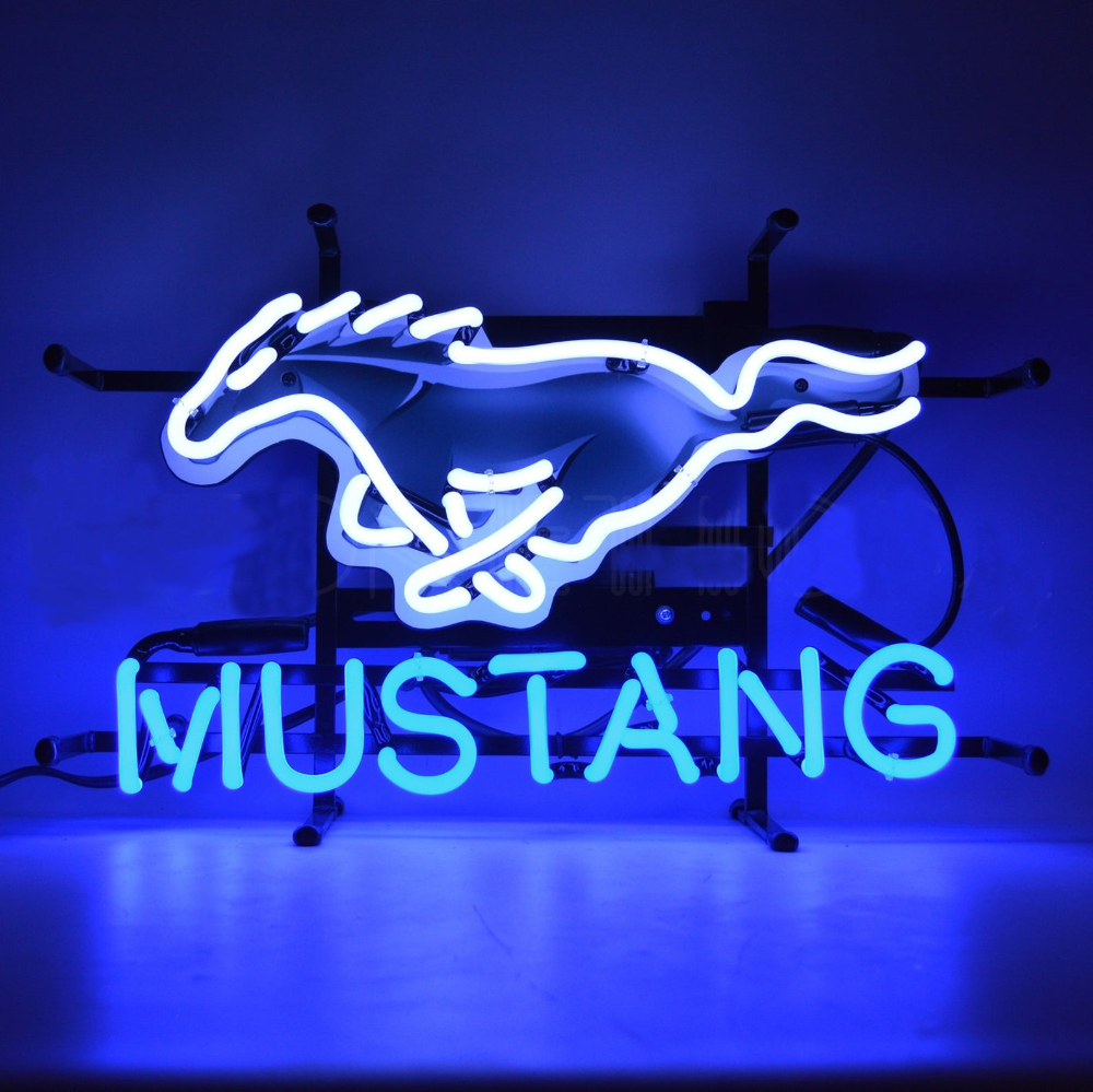 Ford Mustang Gift / Ford Gifts / FORD MUSTANG NEON Sign