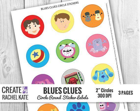 Blues Clues 2 Inch 2