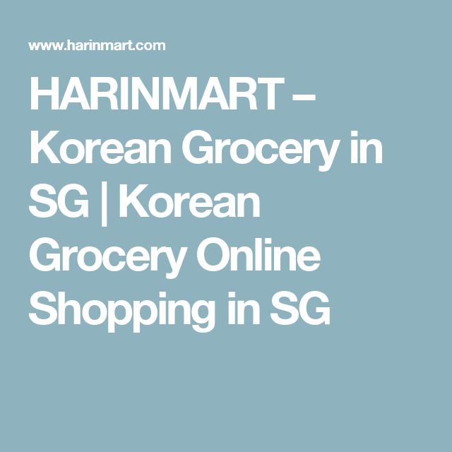 HARINMART – Korean Grocery in SG | Korean Grocery Online