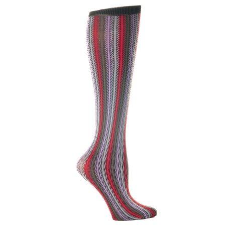 Celeste Stein Stripe 8-15 mmhg Compression Sock - 1 pr