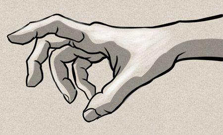 Main de dieu mains comment dessiner une main dessin main et dessin - Comment dessiner une colombe ...