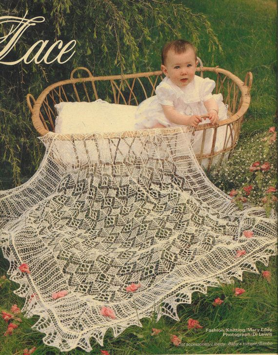 Baby Shawl Knitting Pattern Heirloom Shetland Lace Baby Shawls