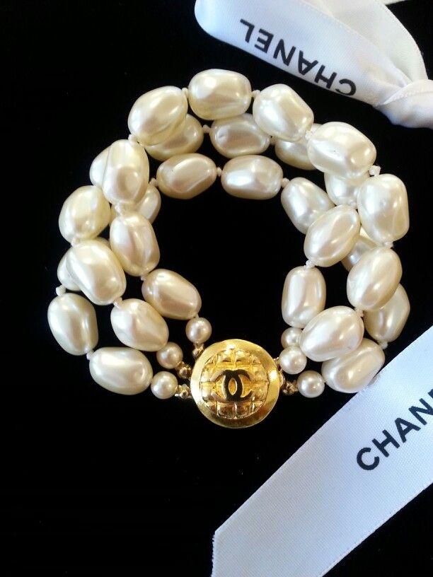 Chanel Button Bracelet