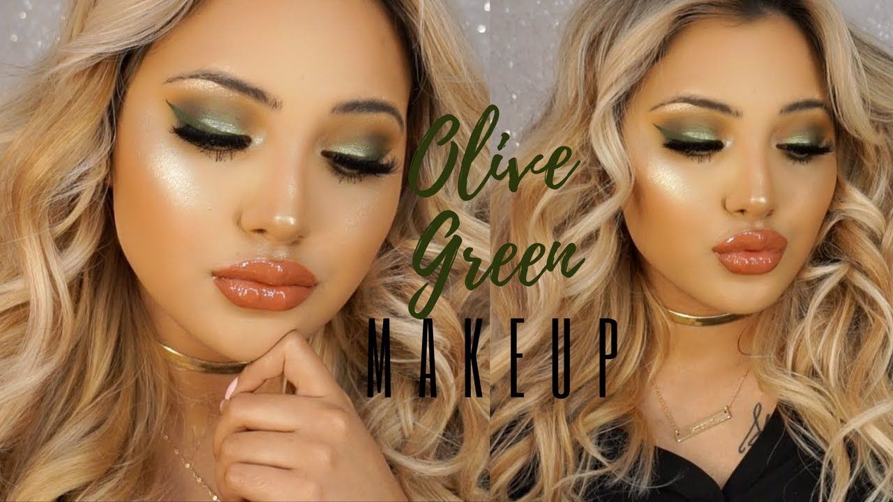 Olive Green Autumn Makeup Tutorial Anastasia Subculture