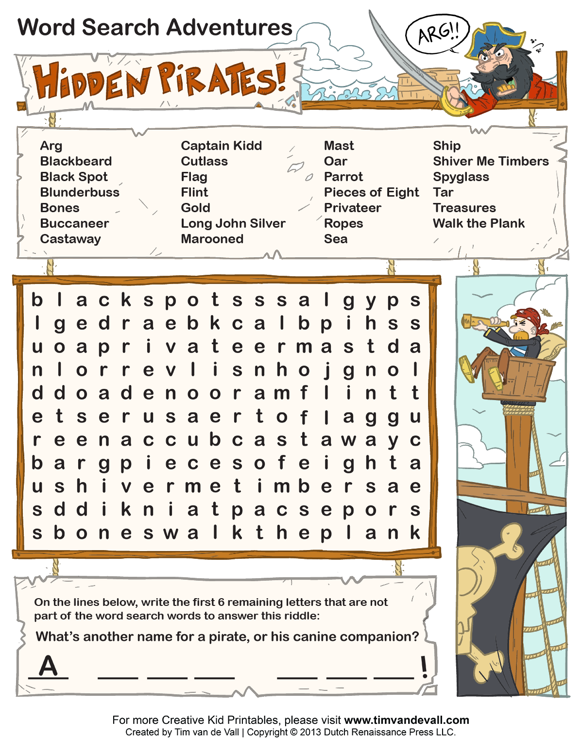 Word search puzzles for kids kids party pinterest word hidden object printables free printable word searches for kids robcynllc Image collections
