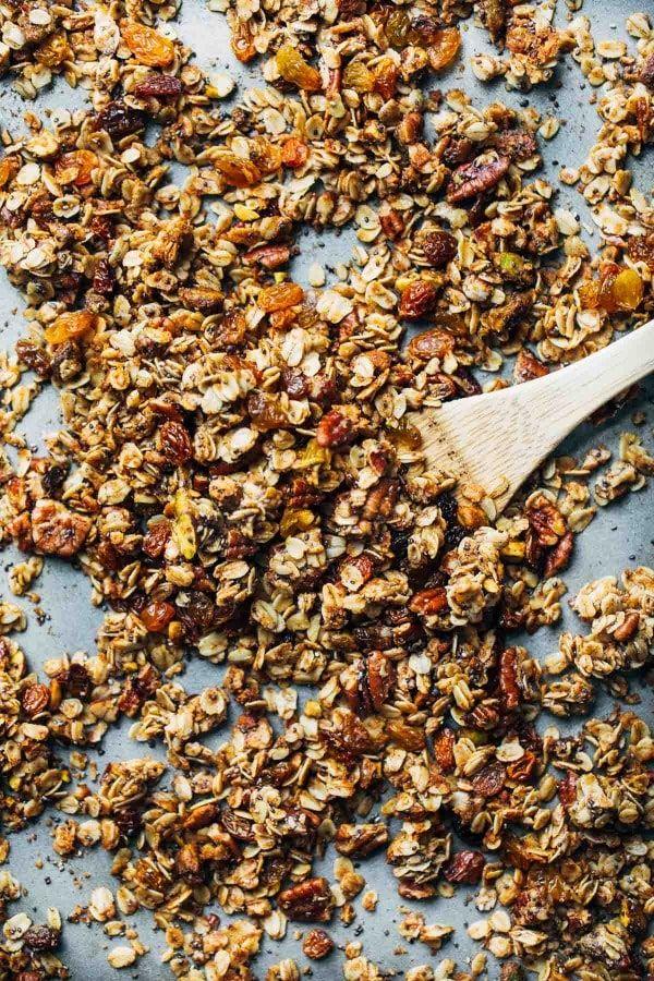 Our Favorite Coconut Oil Granola | Recipe | Coconut oil ...