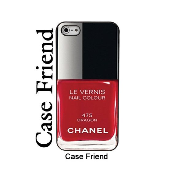 Chanel nail polish iphone5 Chanel Dragon Nail Polish by Casefriend ...