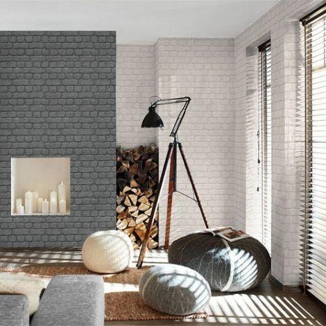 Papier Peint Brickhill Ideal Pour Un Interieur Style Loft Deco