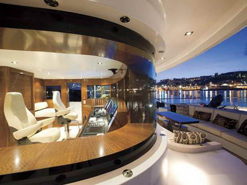 Luxury Yacht Interior Design With Operating Room More