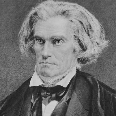John C. Calhoun was born MArch 18, 1782. He was a leading statesmen however he often changed his mind about his ideals. One of his major changes was from that of a strong national government to that of a more removed national government.