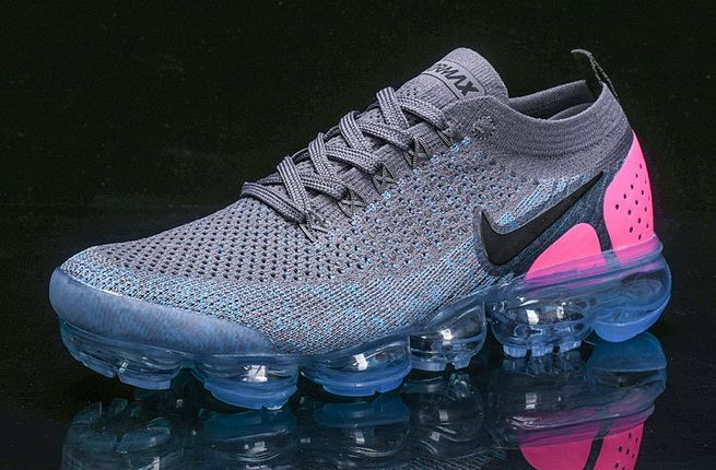 5e1181188f0c Nike Air VaporMax 2.0 Flyknit Black Gunsmoke Blue Orbit 942843-004 ...