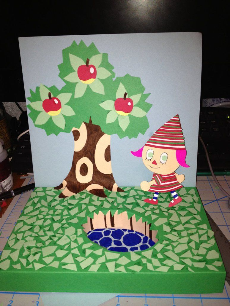 Animal Crossing Diorama By Jagaroth Animal Crossing Crafts