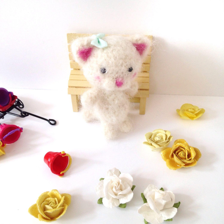 Miniature Cat Crochet Cat Toy Amigurumi Cat Blythe Doll