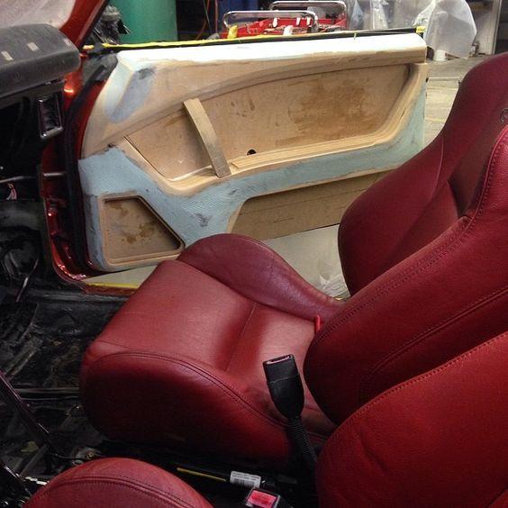 Interior Wood Fiber Glass Custom Car Interior Automotive Upholstery Car Interior Design