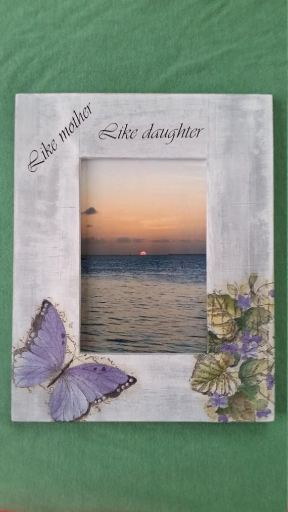Like mother Like daughter frame, Mother daughter quote, Wooden ...