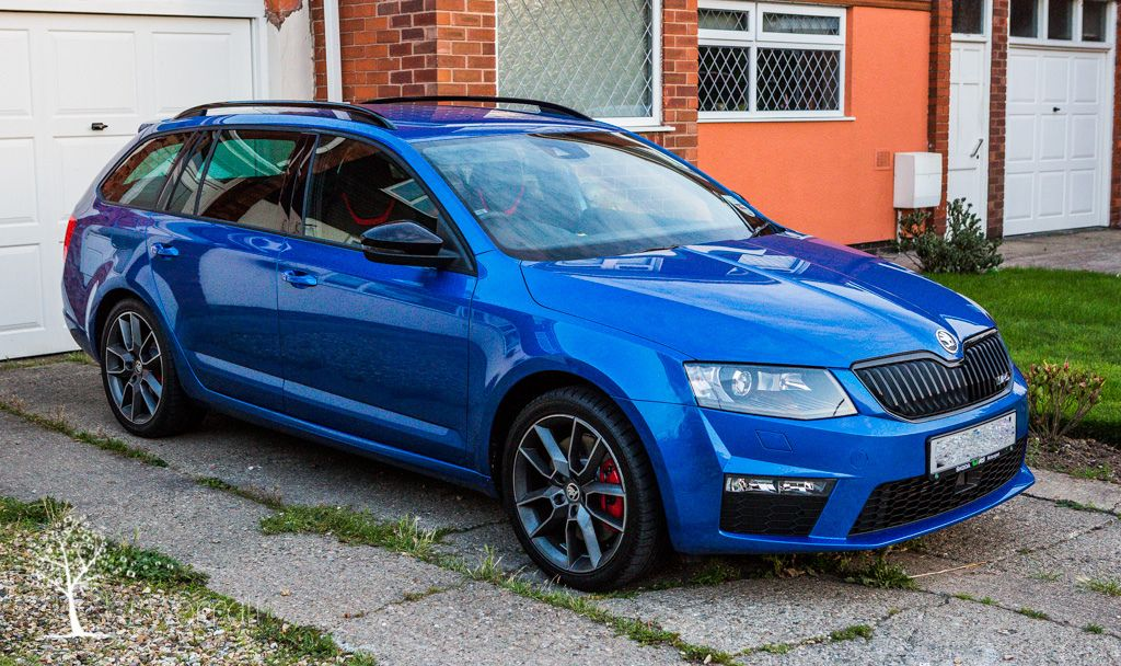 skoda octavia vrs estate diesel 2014 blue combi rs rs pinterest cars and station wagon. Black Bedroom Furniture Sets. Home Design Ideas