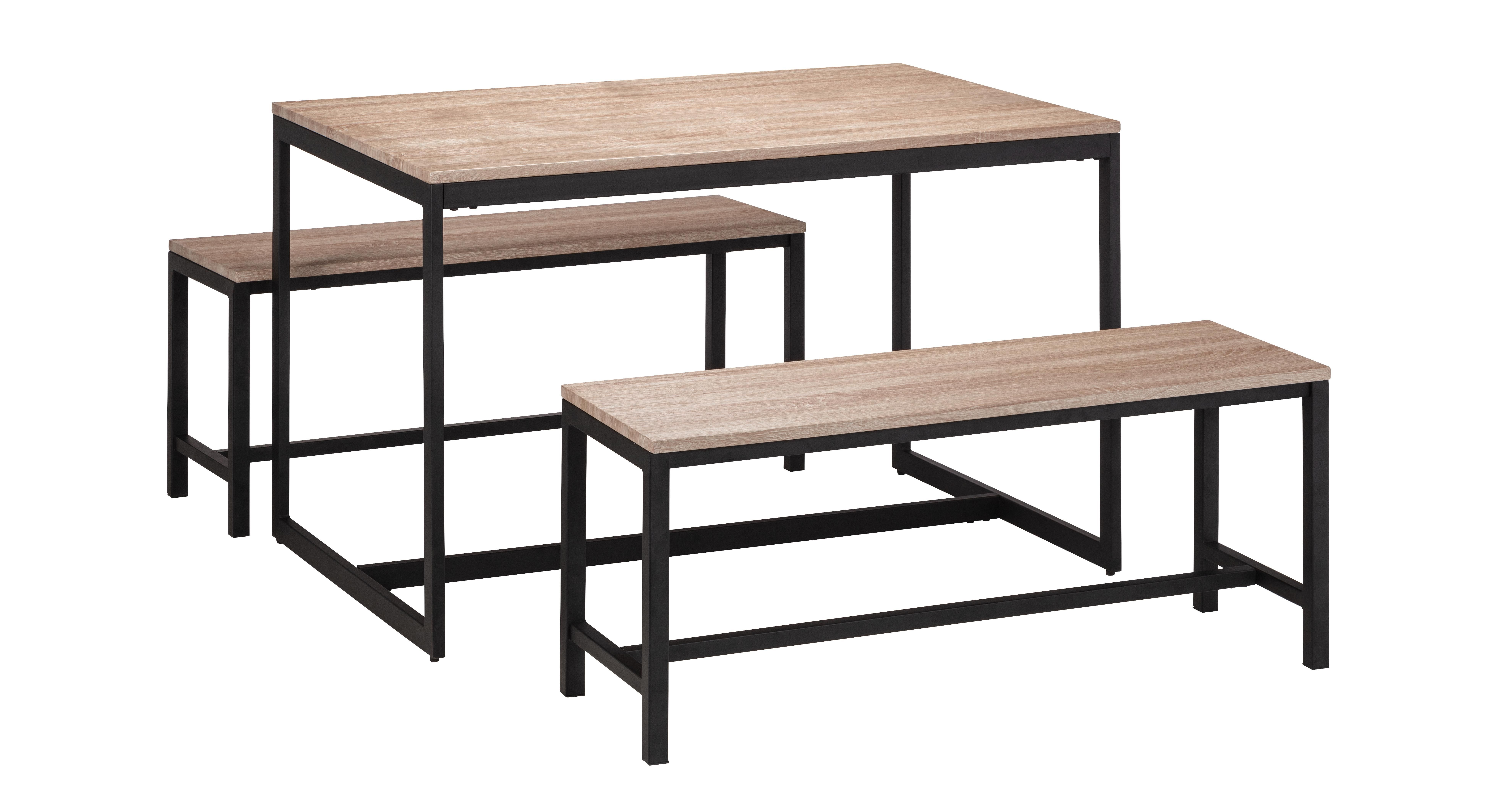 Corsica Fixed Top Table And 2 Benches Diy Dining Table Modern Dining Table Table [ 4200 x 7914 Pixel ]