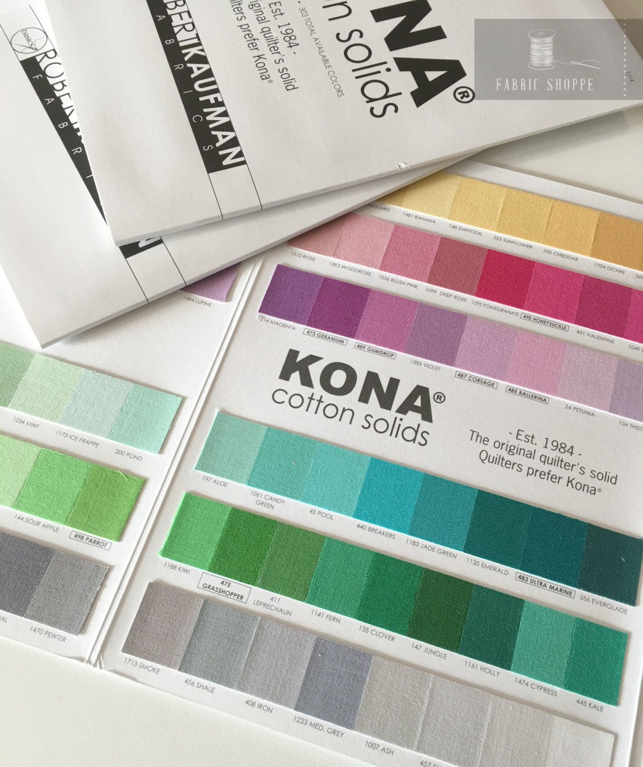 Kona color card kona swatches all 303 colors included quilting kona color card kona swatches all 303 colors included quilting cottons cotton solid fabric chart robert kaufman quilting reference nvjuhfo Images