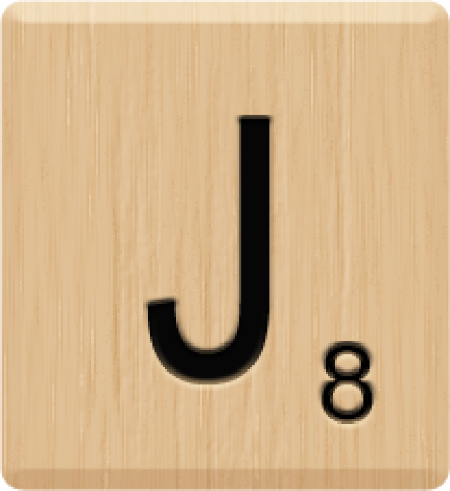 10 Letter I Individual 10 Pieces I Beautiful Scrabble Tiles Letters