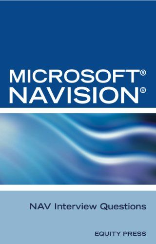 Download Free Microsoft Dynamics Nav Interview Questions Unofficial