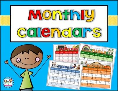 Monthly Calendar Templates Editable From Create Abilities On