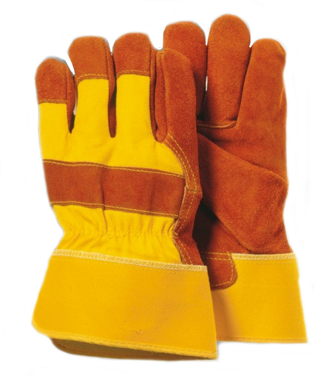 Insulated leather work gloves amazon - Rough Rider Leather Work Gloves Majestic 4501y Split Cowhide Leather Work Gloves Safety Cuff Yellow