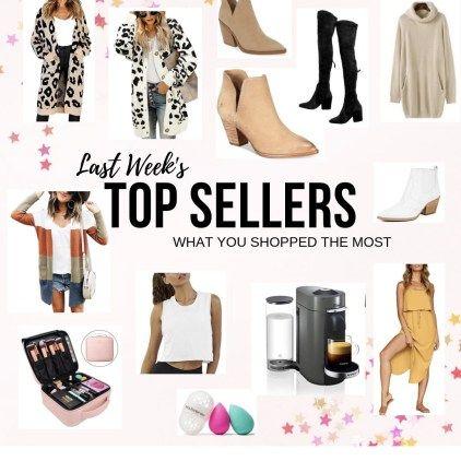 Last Week's Top Sellers