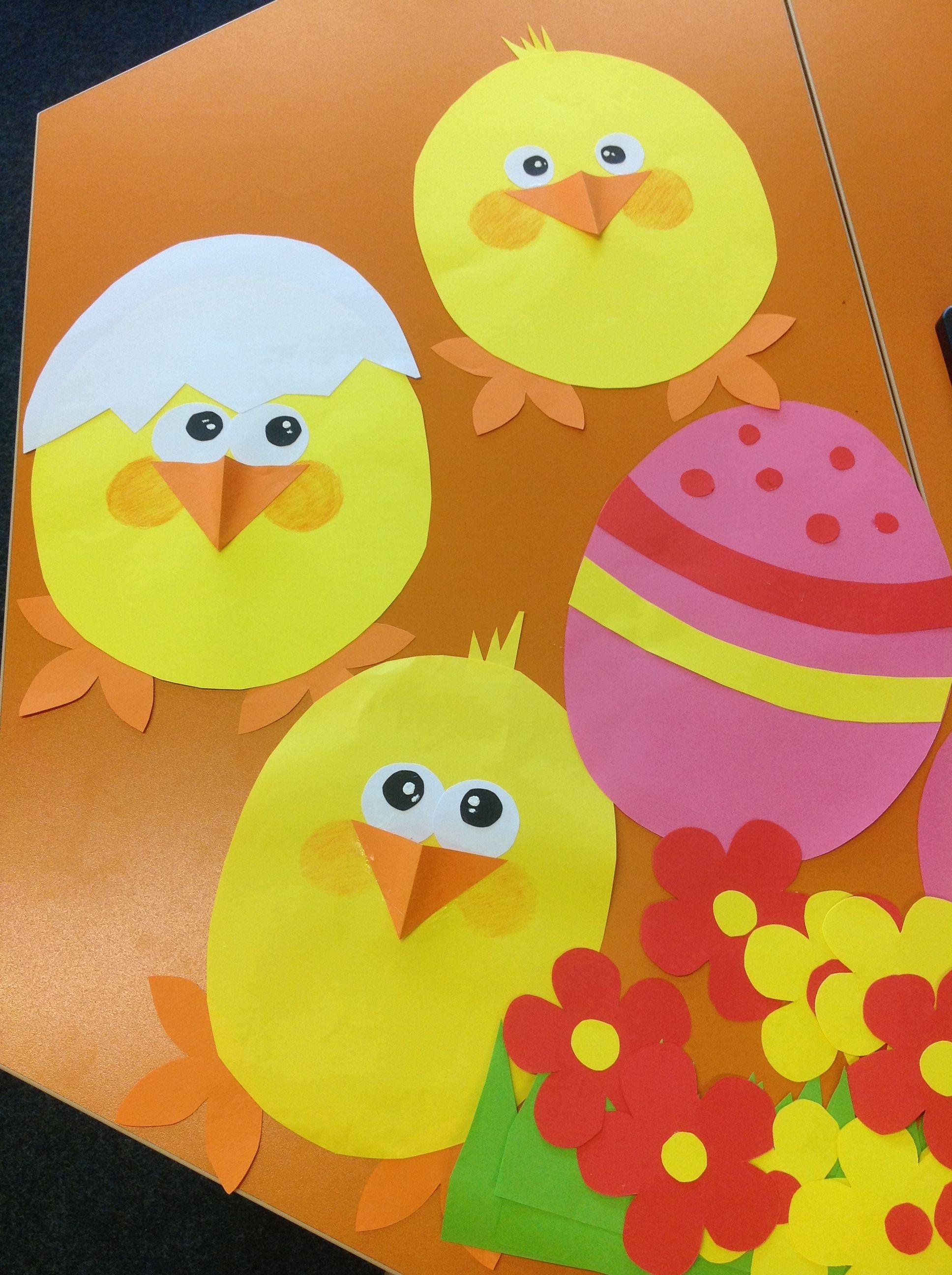 Easter Window Decorations Fun Classroom Activity