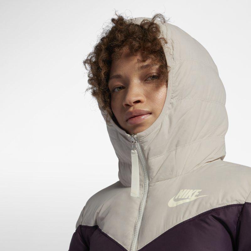 cea837a53391 Nike Sportswear Windrunner Women s Reversible Down Fill Jacket - Cream