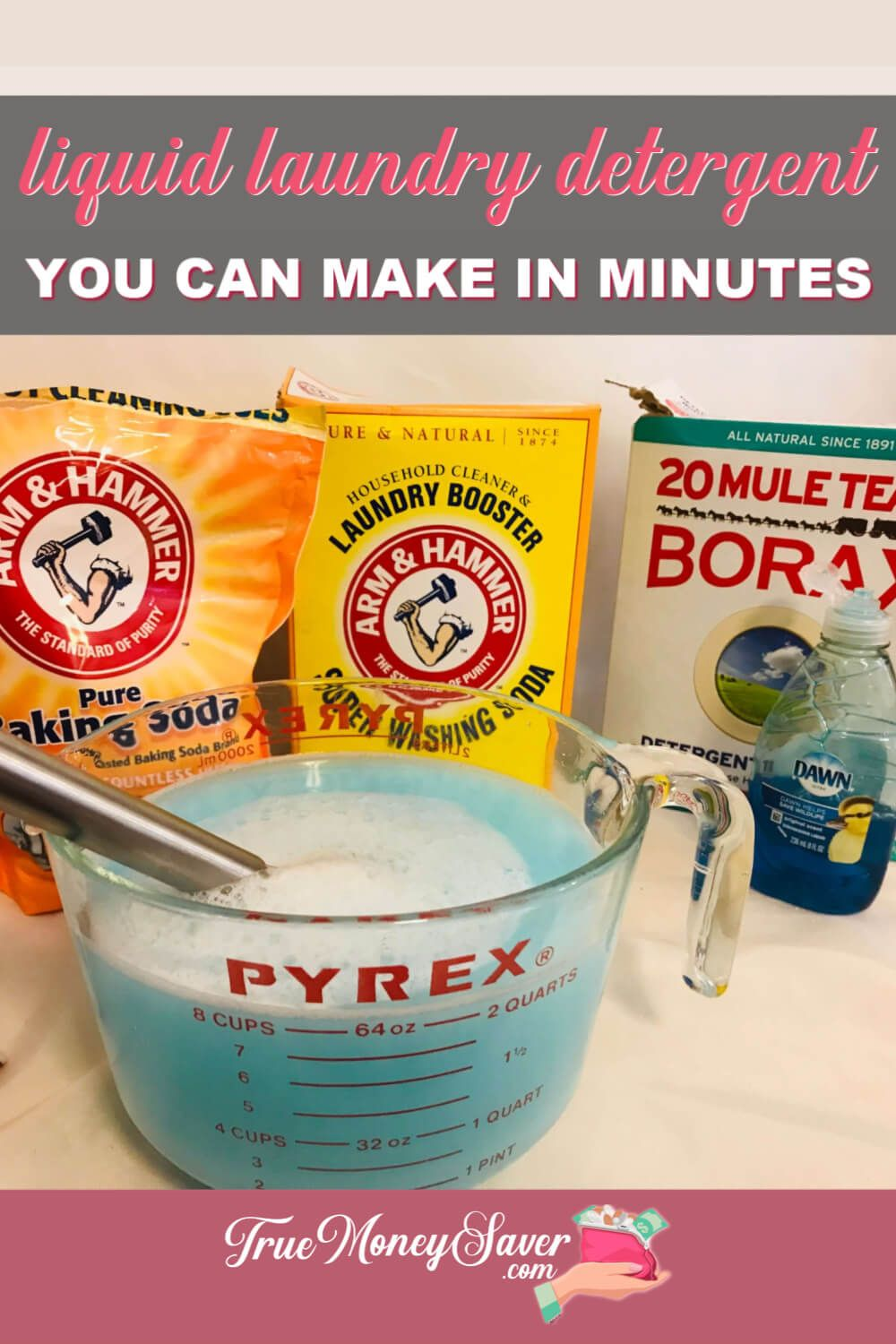 The Best Liquid Laundry Detergent You Can Diy In Minutes In 2020