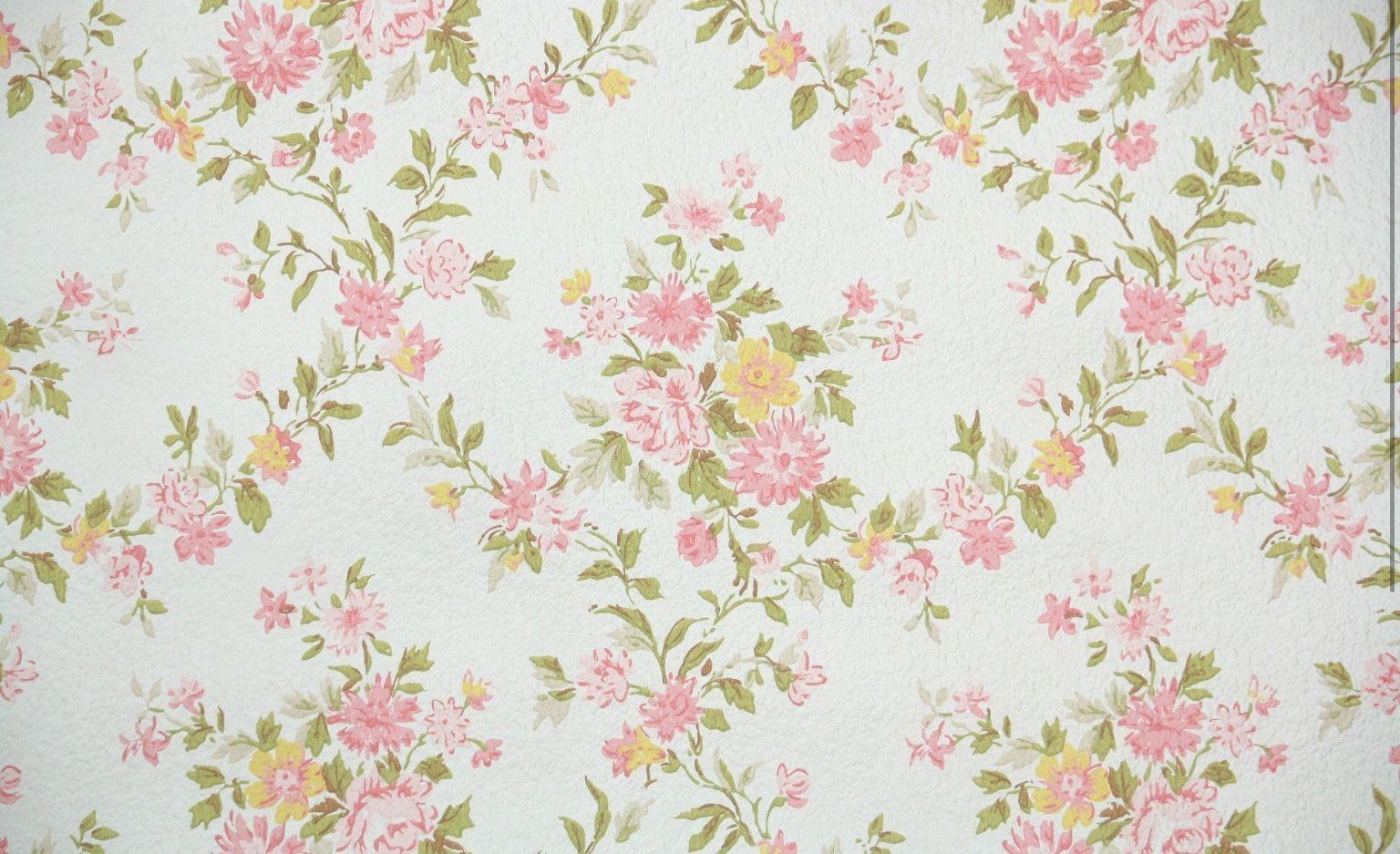 Love It Vintage Floral Wallpapers Wallpapers Vintage Vintage