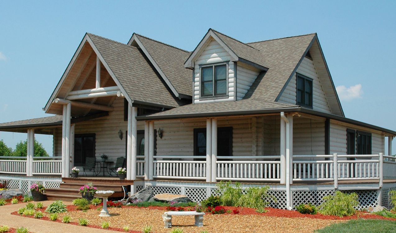 Log Home Exteriors In 2019 Homes Exterior Mountain
