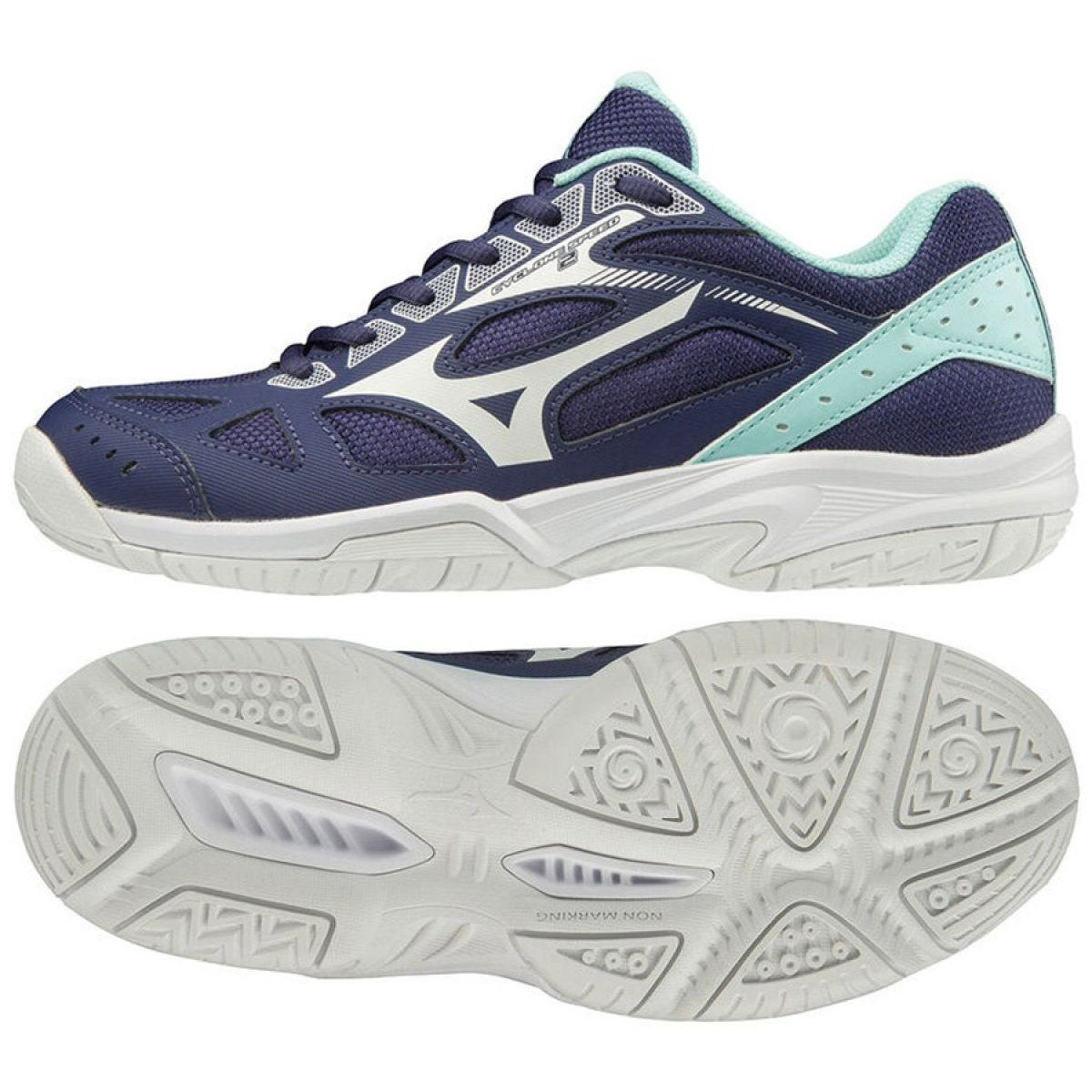 Mizuno Buty Miznuno Cyclone Speed 2 W V1gc198015 Granatowe Granatowe Volleyball Shoes Running Shoes For Men Mizuno Shoes