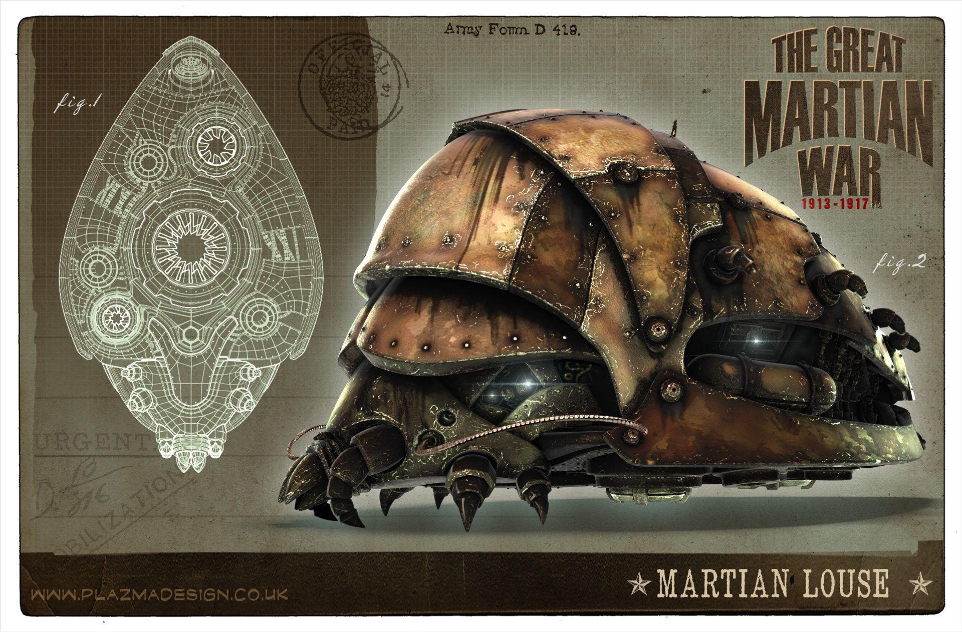 ArtStation - Martian Louse, Christian Johnson | War of the ...