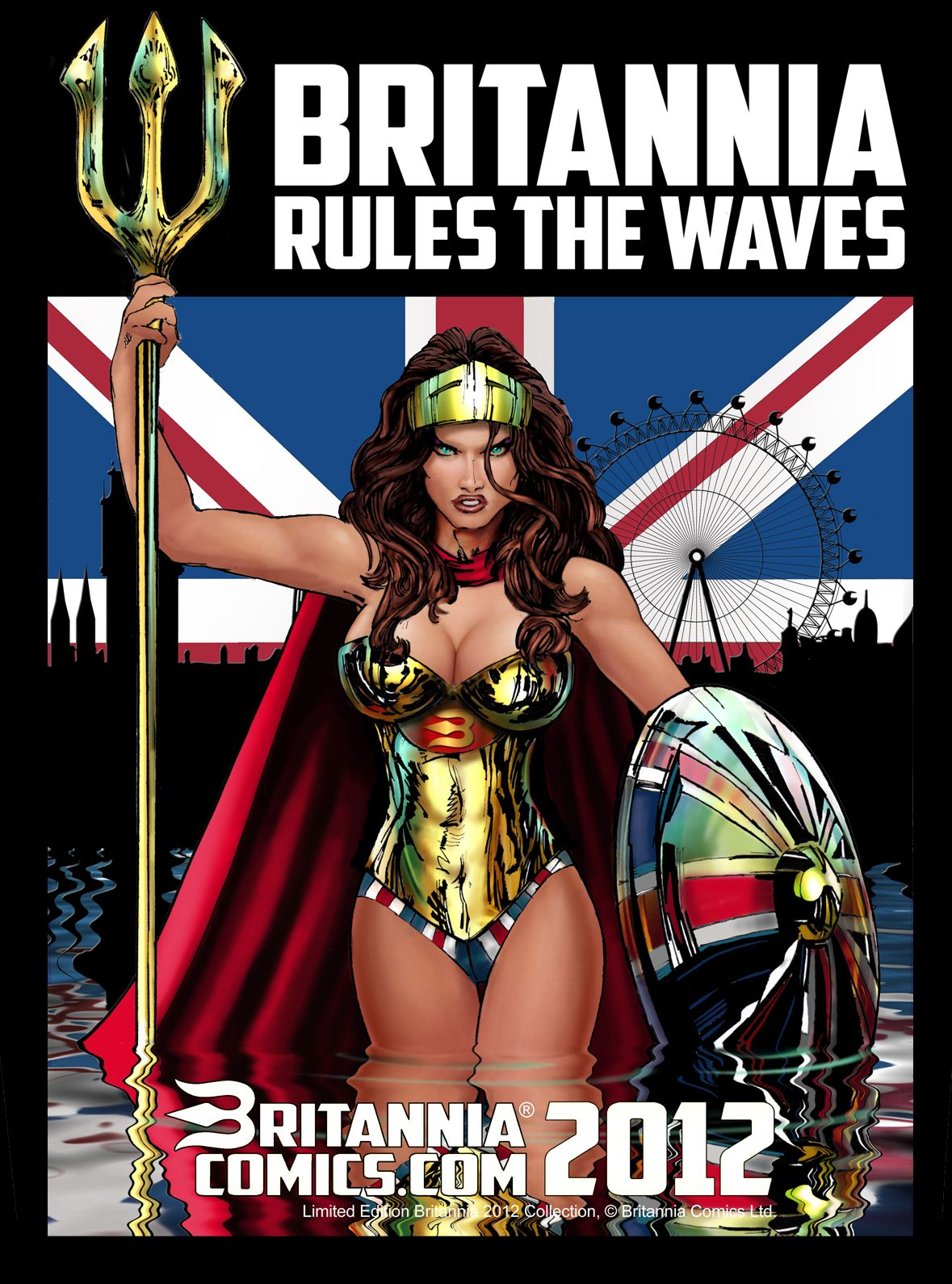 Britannia Rules the Waves - Britannia Superhero Design by ...
