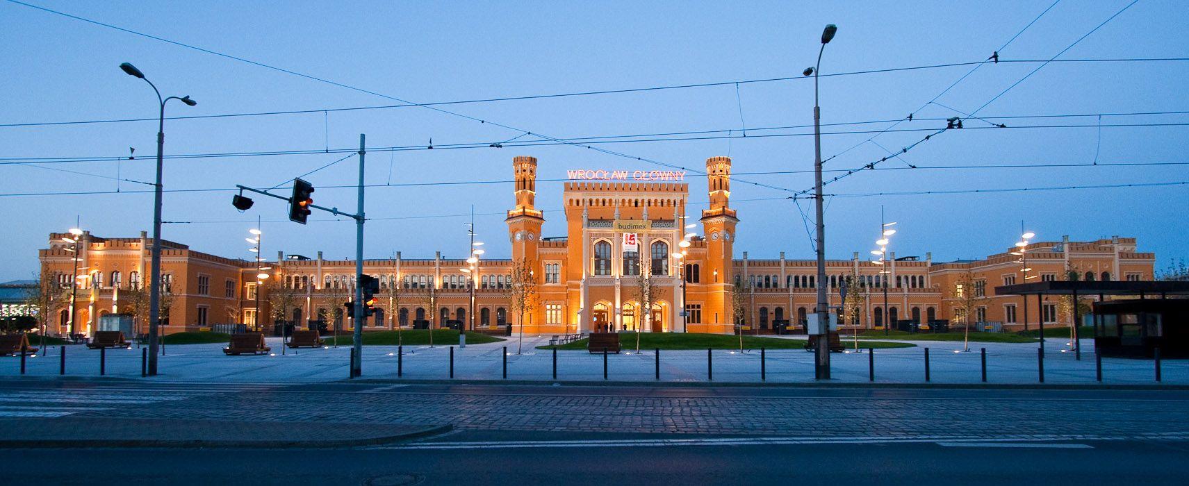 Wrocław] Dworzec Główny
